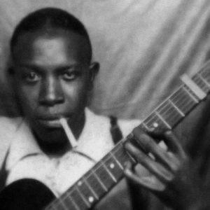 Robert Johnson primera fotografía del músico