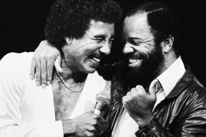 Smokey Robinson y Berry Gordy Motown Records
