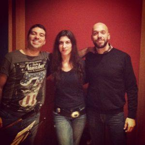Susan Santos Electric Love con Ezequiel Navas y Manuel Bagüés