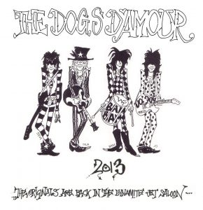 The Dogs D'Amour gira española Flameboy & The Bounders