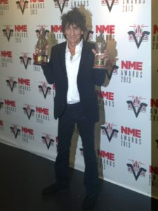 The Rolling Stones dos premios 2013 NME Awards