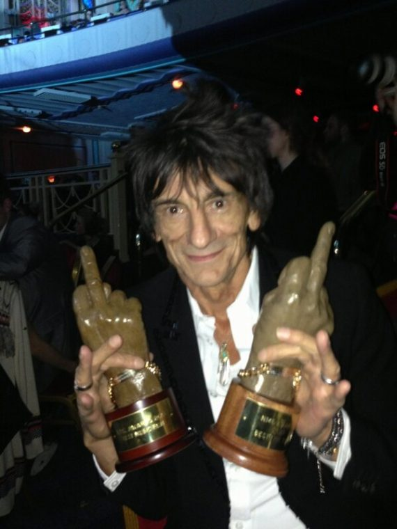 The Rolling Stones ganan dos NME Awards 2013