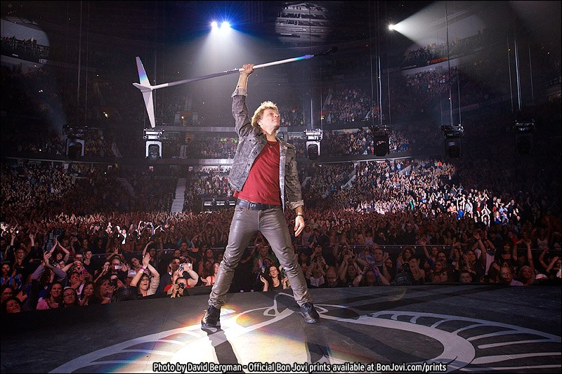Bon Jovi en Madrid Because We Can Tour 2013, presentando What About Now