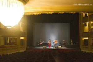 Cabeza Borradora y las butacas del Teatro Guimerá