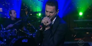 Depeche Mode Live on Letterman Delta Machine 2013