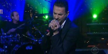 Depeche Mode Live on Letterman Delta Machine 2013