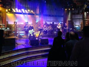 Depeche Mode Live on Letterman Delta Machine