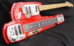 Junior Brown Volumen Ten, y su The Guit Steel guitar