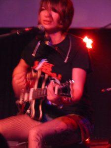 Molly Gene One Whoaman Band en La Laguna Tenerife 2013