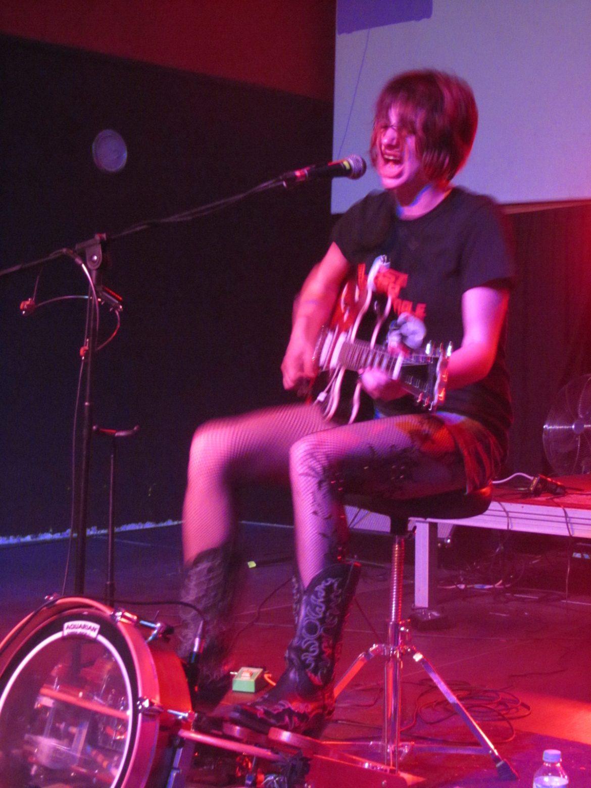 Molly Gene One Whoaman Band soberbia en Tenerife con su Dirty Delta Thrash 2013