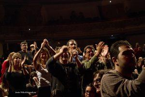 El público en el primer aniversiario del Espacio Guimerá Música