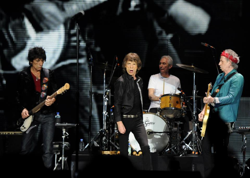 The Rolling Stones 50 & Counting Tour 2013, gira mundial