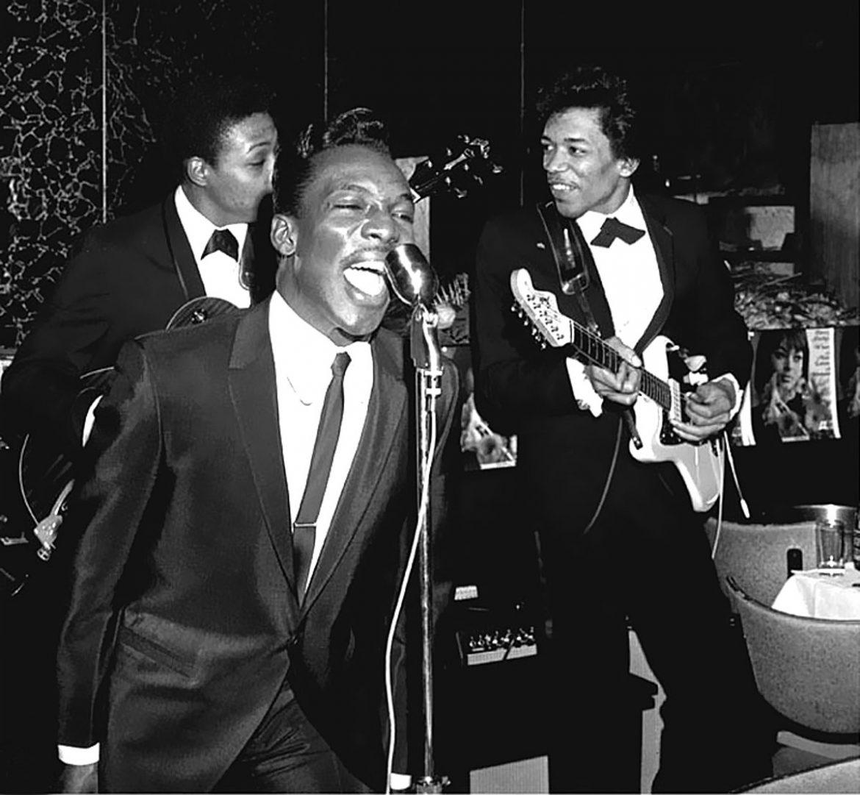 Wilson Pickett y Jimi Hendrix