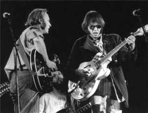 Crosby, Stills, Nash & Young CSN&Y Tour 1974