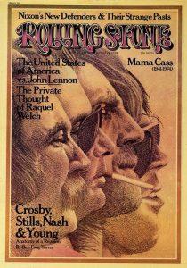 """Crosby, Stills, Nash & Young, nuevo disco en directo de su reunión del 74 conocida como """"CSNY Live '74″ o gira """"Doom Tour"""""""