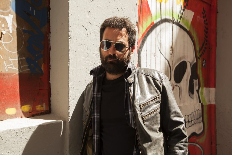 "Entrevista a Raúl Tamarit de Los Radiadores, ""Manual de Supervivencia"". Foto Juan Carlos Pestano"