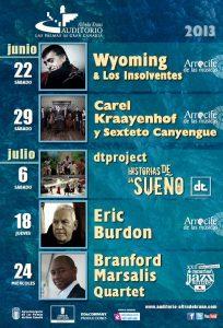 Eric Burdon en Las Palmas  festival Arrecife de las Músicas de Las Palmas de Gran Canaria 2013