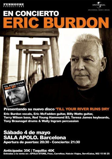 Eric Burdon gira española 2013