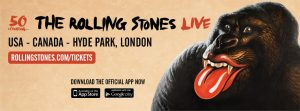 Fechas gira 2013 The Rolling Stones 50 & Counting tour