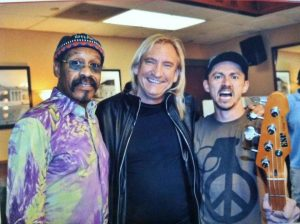 Joe Walsh con Lonnie Jordan de WAR
