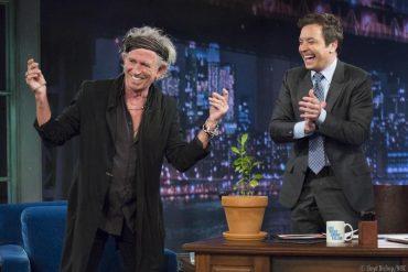 Keith Richards con Jimmy Fallon y Bill Wyman rechaza ir de gira con The Rolling Stones