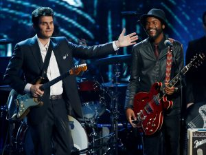 Rock and Roll Hall of Fame John Mayer y Gary Clark Jr