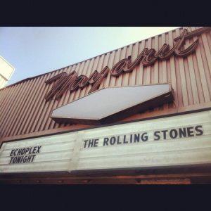 The Rolling Stones concierto en el Echoplex de Los Angeles
