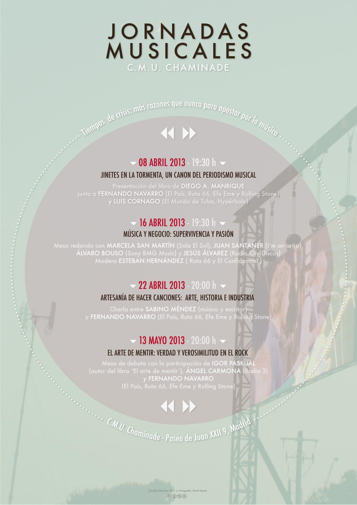 Tiempos de crisis más razones que nunca para apostar por la música Colegio Mayor Chaminade 2013
