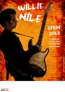 Willie Nile American Ride European and Spain Tour 2013