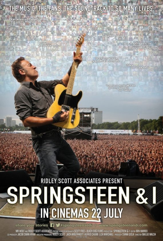 """Springsteen & I"", en cines de España el 22 de julio, 40 aniversario The Boss"
