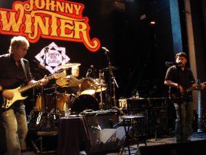 Banda JOHNNY WINTER Madrid
