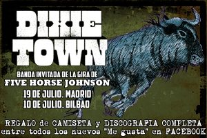 Five Horse Johnson y Dixie Town en Bilbao y Madrid 2013