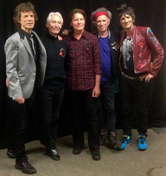 John Fogerty y The Rolling Stones juntos en el concierto de San Jose, CA