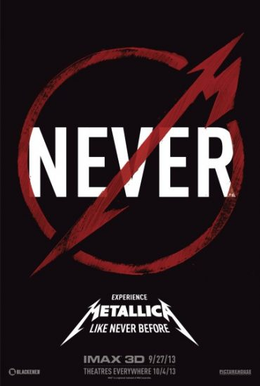 Metallica Through the Never, película en 3D