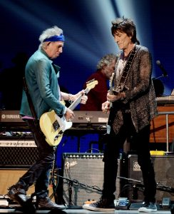Ronnie Wood, 66 años del Faces y Stones