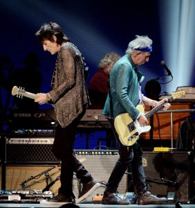 Ronnie Wood, 66 años grooving you con Faces y Rolling Stones