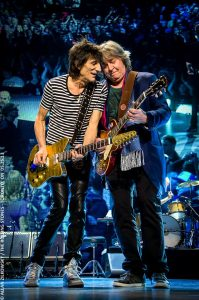 Ronnie Wood, 66 años grooving you con Faces y Stones