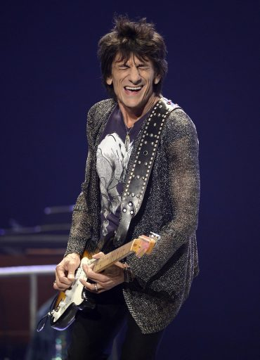 Ronnie Wood, 66 años grooving you con Faces y Stones 2013
