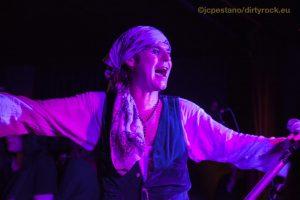 The Quireboys en Valencia presentando Beautiful Curse