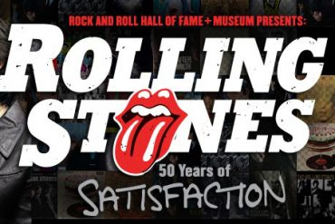 The Rolling Stones 50 Years of Satisfaction exposición en Cleveland