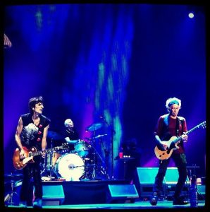 The Rolling Stones comenzando su gira en Los Angeles, Staples Center