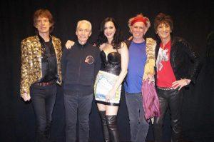 The Rolling Stones y Katy Perry en Las Vegas 11 Mayo 2013