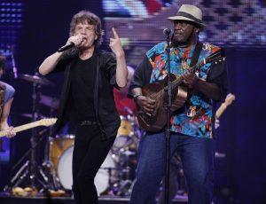 The Rolling Stones y Taj Mahal en Chicago