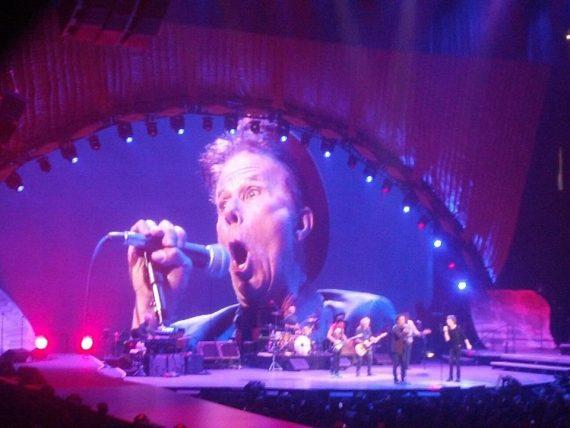 The Rolling Stones y Tom Waits en Oakland 2013