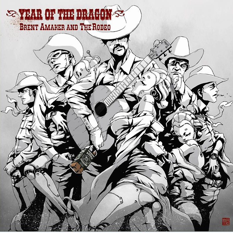 Brent Amaker and the Rodeo, Year of the Dragon nuevo disco