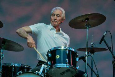 Charlie Watts, 72 años con los Stones y el Jazz