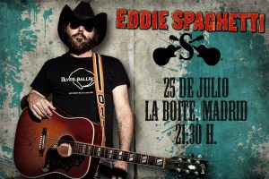 Eddie Spaghetti gira española 2013 The Value of Nothing