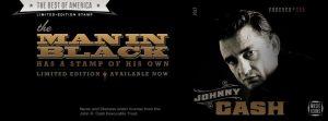 Johnny Cash y su sello en el US Postal Service a partir de hoy 5 de mayo de 2013