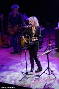 Lucinda Williams y David Sutton en Bilbao