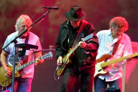 Neil Young & Crazy Horse Berlín Waldbühne arranque de la gira europea